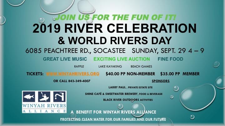 River Celebration poster